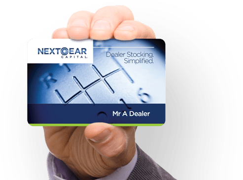 NextGear Capital dealer card